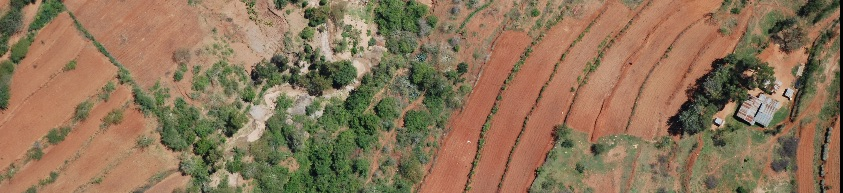 Aerial images from Kenya georeferenced by the ICRAF GeoScience Lab